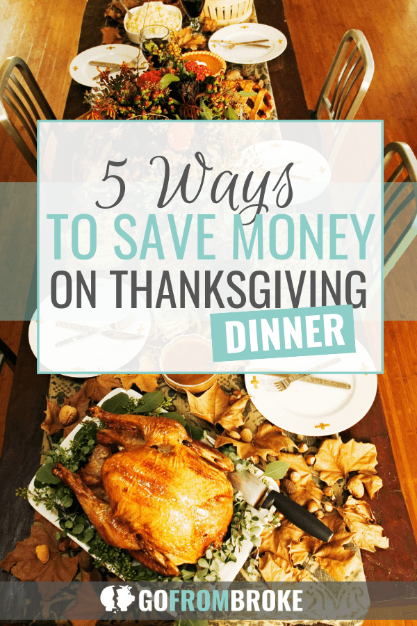 5 Ways to Save on Thanksgiving Dinner