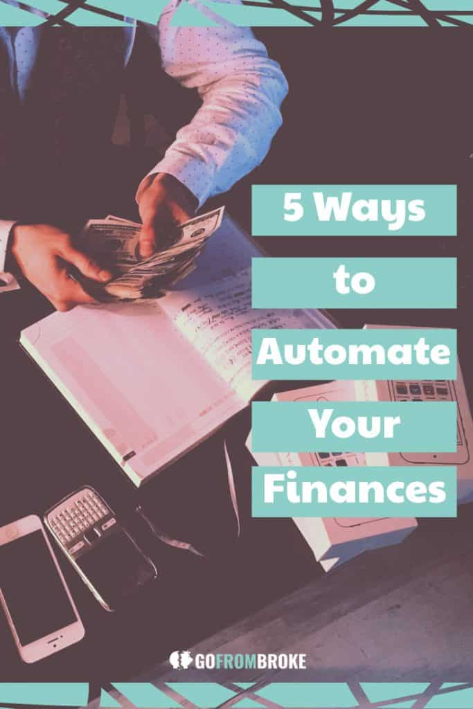 5 Ways to Automate Your Finances Pin