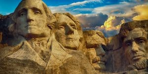 Image of presidents on Mount Rushmore