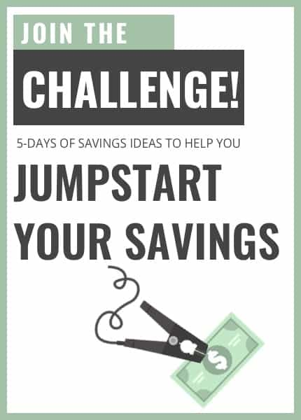 Jumpstart Your Savings Email Challenge Banner Ad