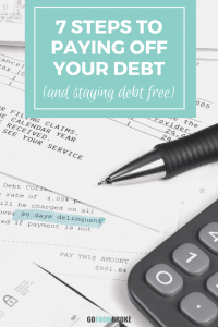 7 Steps for Paying Off Your Debt