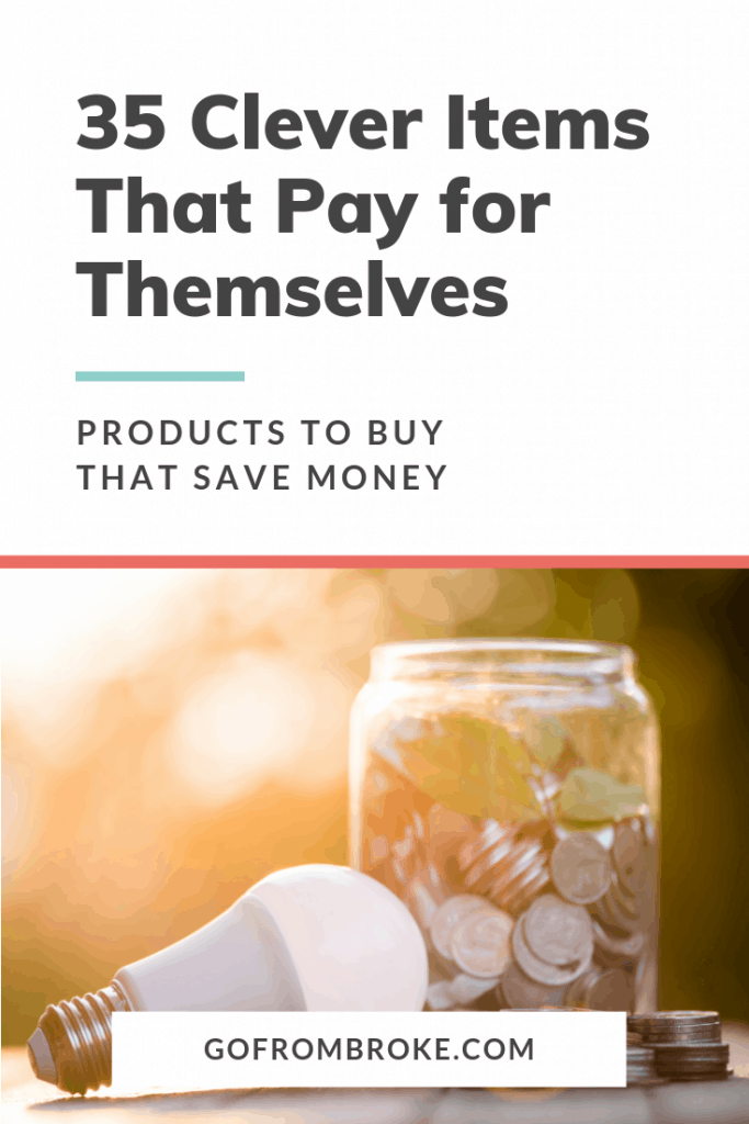 Products to Save You Money Pin